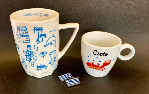 Crete travel souvenir